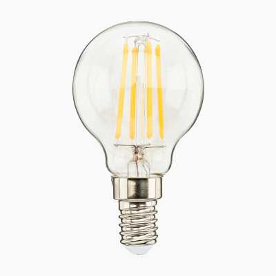 MINI GLOBE E14 CLEAR DIMMABLE