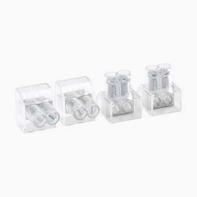 CONNECTOR DOUBLE 10PCS