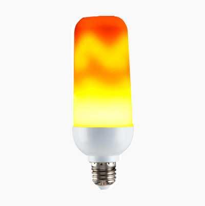 LED, FLAMMER, E27 2W