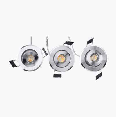LED DOWNLIGHT SET 3X1W