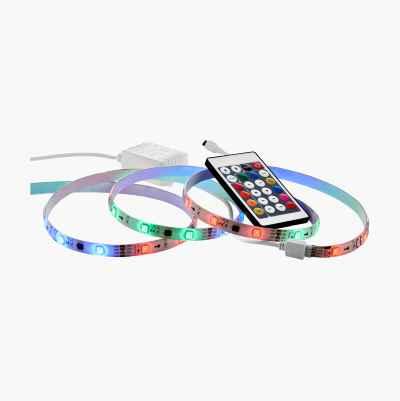 STARTKIT: 2 M LED-LIST OCH TRA