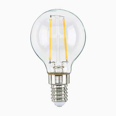 2,5W MINI GLOBE E14 CLEAR  HAL