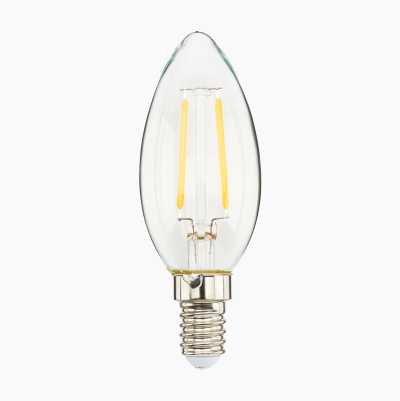 2,5W CANDLE E14 CLEAR  HALF PA