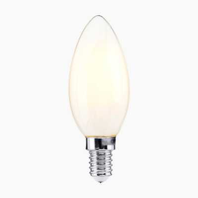 2,5W CANDLE E14 FROSTED HALF P