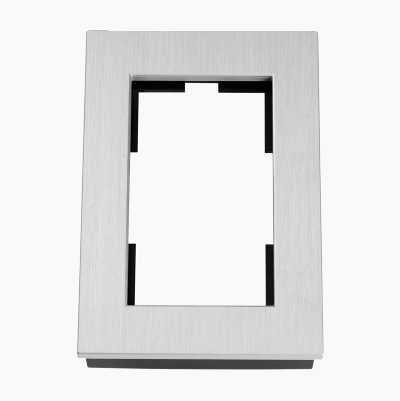 FRAME FOR 2 WAY OUTLET AL