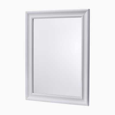 MIRROR WHITE 50X70CM