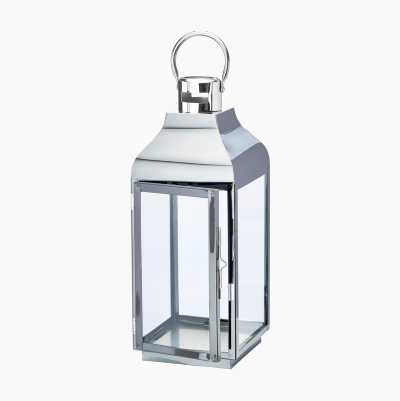 STAINLESS STEEL  LANTERN H42,3