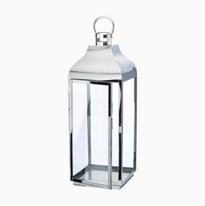 STAINLESS STEEL  LANTERN H61,8