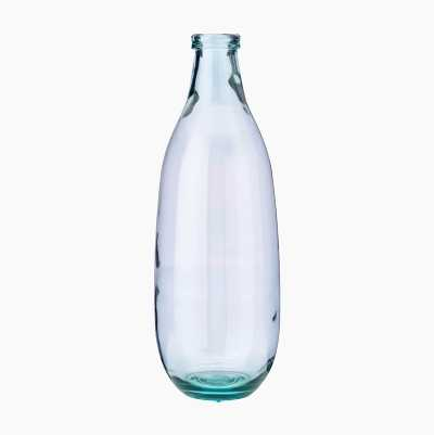 GLASS VASE MONTANA 40CM CLEAR