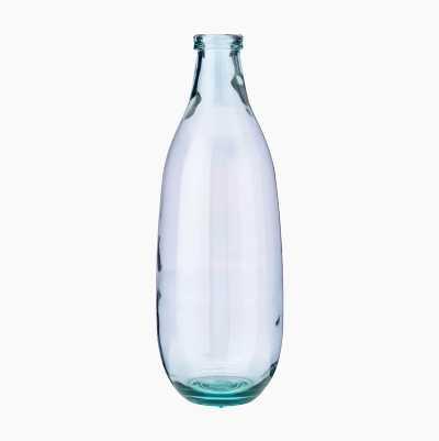 GLASS VASE MONTANA 40CM CLEAR