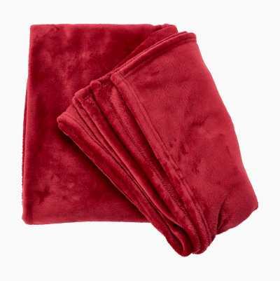 FLANNEL FLEECE RED