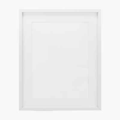 PHOTOFRAME PLAIN MAT WHITE 40X