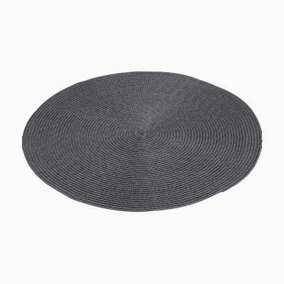 ROUND PLACEMATE GRAY 38CM