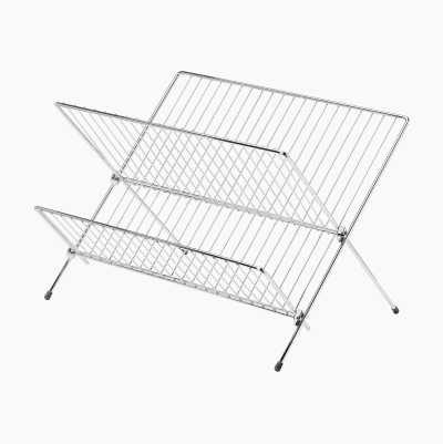 DISH RACK METAL FOLDABLE