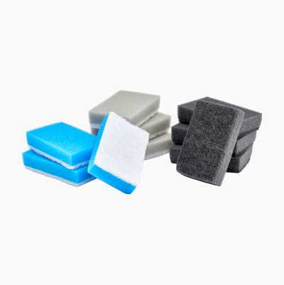 KITCHEN SPONGE FINE 10PCS