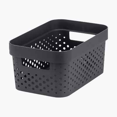 STORAGE BASKET 11L GREY