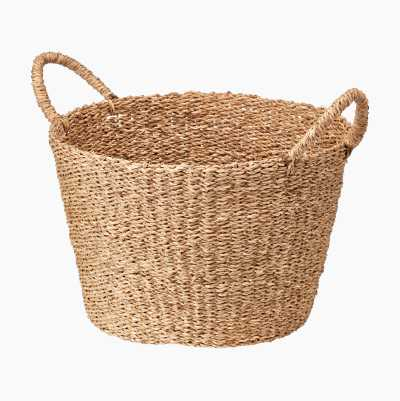 SEAGRASS BASKET ROUND