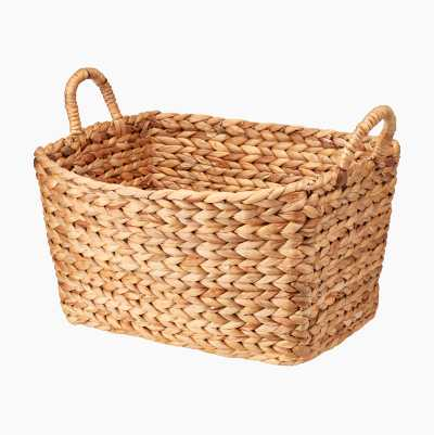WATER HYACINTH BASKET