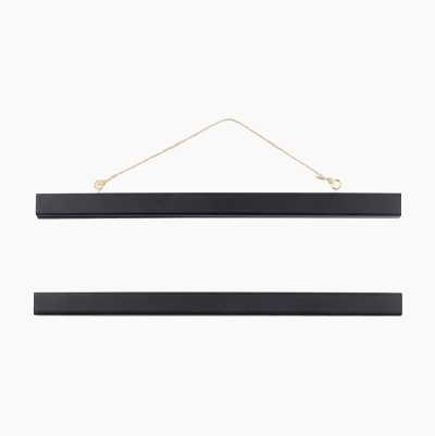 WOODEN LIST 31CM BLACK