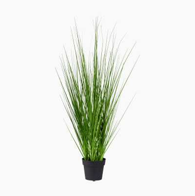 ARTPLANT GREEN GRASS SMALL
