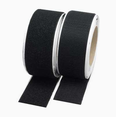 VELCRO BLACK 0,5M/25MM