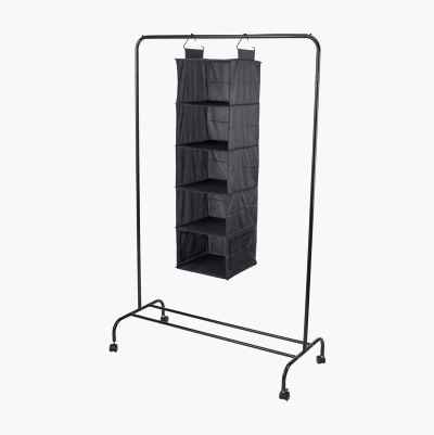 HANGING WARDEROBE 5 COMPARTMEN