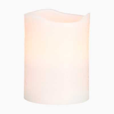 LED PILLAR CANDLE 10CM