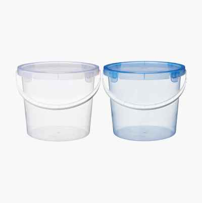 BUCKET WITH LID 10L