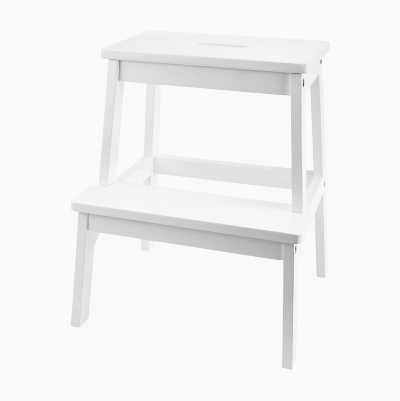 KITCHEN LADDER WHITE