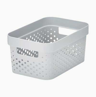 PLASTIC BASKET 4,5L COLORED