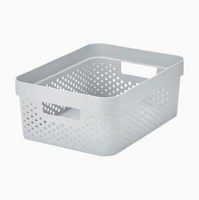 STORAGE BASKET 11L COLORED