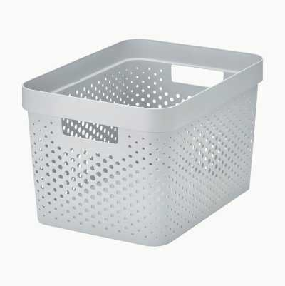 STORAGE BASKET 17L COLORED