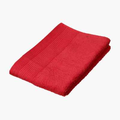COTTON TOWEL PLAIN 50X70CM COR