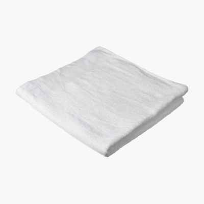 COTTON TOWEL PLAIN 70X150CM WH