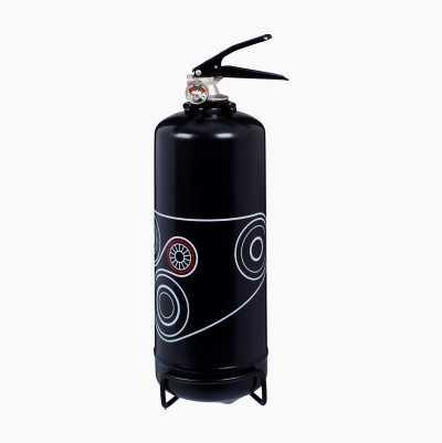 FIREEXTINGUISHER 2 KG BLACK