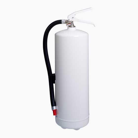 FIREEXTINGUISHER 6 KG WHITE