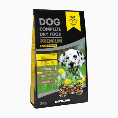 DOG FOOD DRY PUPPY/JUNIOR 3KG