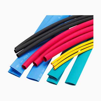 HEAT-SHRINK. TUBES 2-10MM 15PC