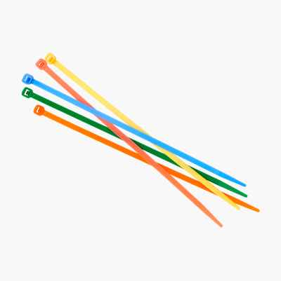 CABLE TIE KIT FLOROCENT