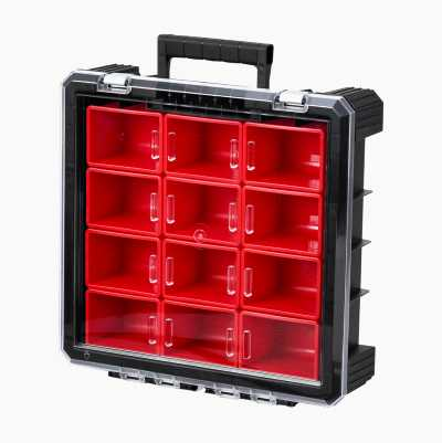 STORAGE BOX WITH REMOVABLE BIN