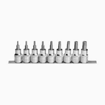 "SCREWDRIVER TTX SET 9PC1/2""DR"