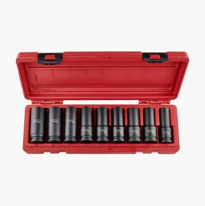 "SOCKET SET 1/2"" 9PCS"
