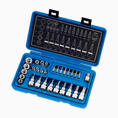 SOCKET & BITS SET 30PCS