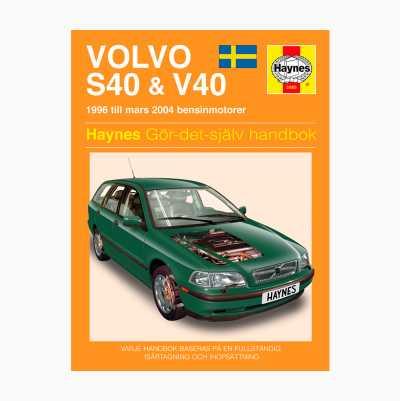 REPARATIONSHÅNDBOG VOLVO S40/V