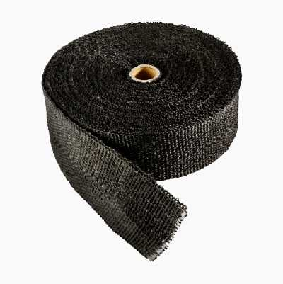 EXHAUST WRAP BLACK 15M