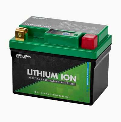MC BATTERY LITHIUM 2,4 AH