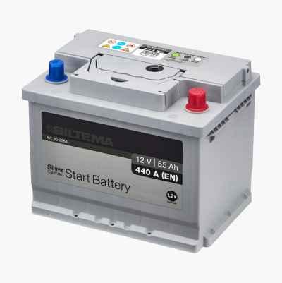 BATTERI SILVER 12V 55AH CCA480