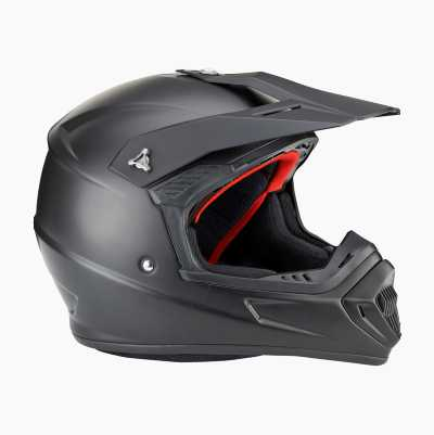 MX HELMETS MATT BLACK M58