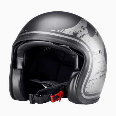 OPEN FACE HELMET WITH VISOR M