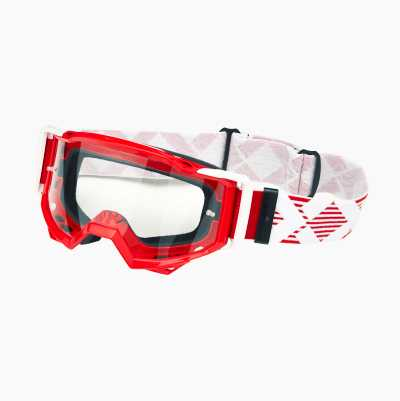 MX GOGGLES RED